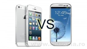 Imagini Comparatie Galaxy S4 - iPhone 5S, de ce este Samsung mai tare decat Apple
