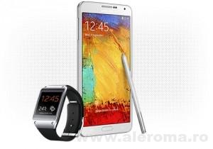 Imagini S-au lansat in Romania Samsung GALAXY Note 3 si ceasul inteligent Samsung GALAXY Gear