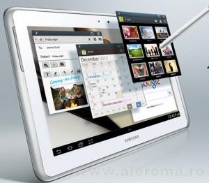 Imagini Internet mobil de mare viteza 4G cu tableta Samsung Galaxy Note LTE 10.1 N8020