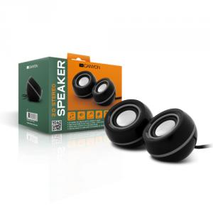 Imagini Set de boxe 2.0 cu mufa 3.5 ideal pentru PC, laptop sau netbook