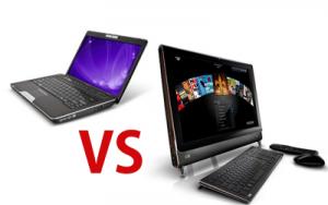 Imagini Ai nevoie de un PC dar nu ai spatiu suficient sau un spatiu de birou dedicat? Ai de ales intre un laptop si un PC All-in-one