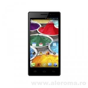 Imagini Smartphone Rainbow X45 Dual Core cu ecran de 4,5 inch la promotie plus cadou incarcator auto la numai 499,90 lei